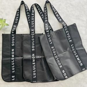 Lululemon X Soulcycle Tote Bags X3 Black Reusable